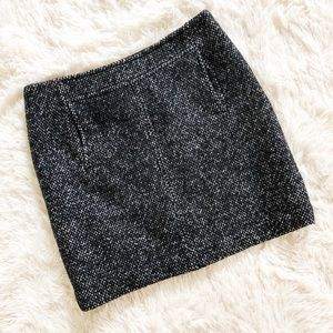 Banana Republic Wool Tweed Skirt